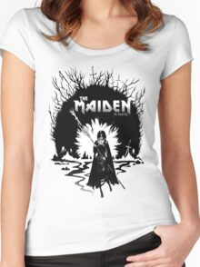 The Maiden in Black Women's Fitted Scoop T-Shirt
