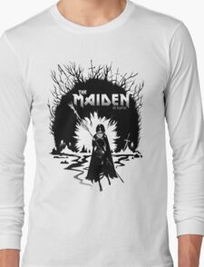The Maiden in Black Long Sleeve T-Shirt