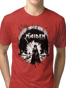 The Maiden in Black Tri-blend T-Shirt