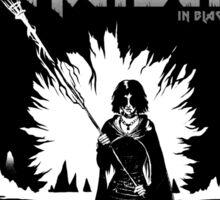 The Maiden in Black Sticker