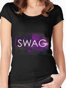 Hipster SWAG Women's Fitted Scoop T-Shirt