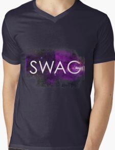 Hipster SWAG Mens V-Neck T-Shirt