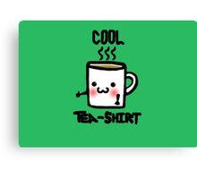 Cool Tea-Shirt  Canvas Print