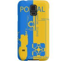 Portal - Aperture Science Samsung Galaxy Case/Skin