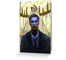 True Detective, Rust Cohle #2 Greeting Card