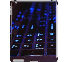 Laptop Blue lights Keyboard iPad Case/Skin