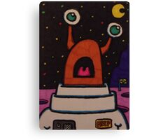 Meep In Space Part 2 Canvas Print