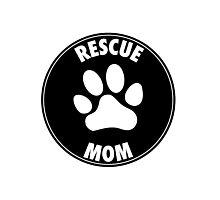 RESCUE MOM - CIRCLE Photographic Print