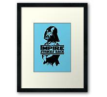 The IMPire Strikes Back Framed Print