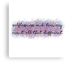 Divergent Canvas Print
