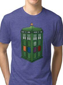 Teenage Mutant Ninja TARDIS (T.M.N.T.A.R.D.I.S.) Tri-blend T-Shirt