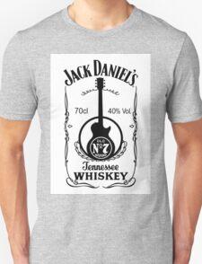 Jack Daniels Whiskey - White T-Shirt