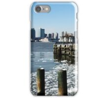ICE ON THE HUDSON iPhone Case/Skin