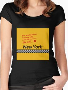 TAXI of New York, New York Women's Fitted Scoop T-Shirt