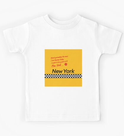 TAXI of New York, New York Kids Tee
