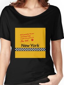 TAXI of New York, New York Women's Relaxed Fit T-Shirt