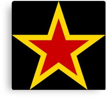 Soviet Air Force Fighter Star (1941-1945) Canvas Print
