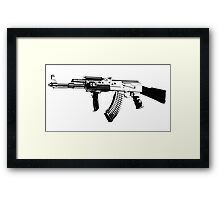 AK-47 Framed Print
