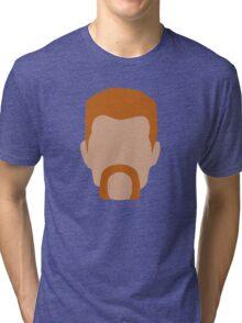 Abraham Ford / Flat Design Tri-blend T-Shirt