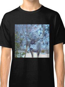 Mule Deer in the Snow Classic T-Shirt