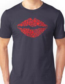 Red Lips Art - Big Kiss - Sharon Cummings Unisex T-Shirt