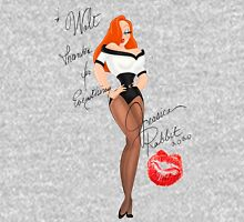 To Walt Thanks for everything Jessica Rabbit Womens Fitted T-Shirt