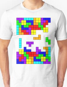 Tetris Making Tetris Fall Unisex T-Shirt