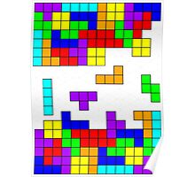 Tetris Making Tetris Fall Poster