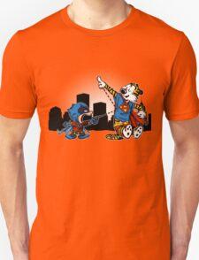 Batmin v Superhob T-Shirt