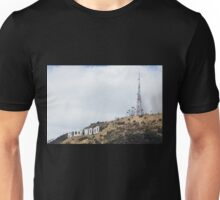 Hollywood Sign and Tower Unisex T-Shirt