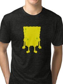 Spongebob silhouette Tri-blend T-Shirt