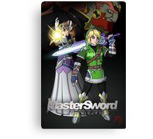 MasterSword Chronicles - Zelda/Xenoblade Crossover Canvas Print