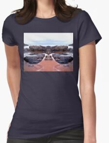 Reflection of Short Rock Womens Fitted T-Shirt