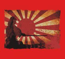 Samurai Sun One Piece - Short Sleeve