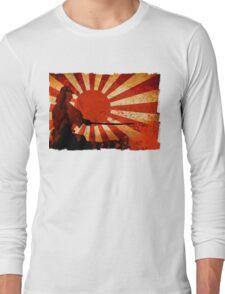 Samurai Sun Long Sleeve T-Shirt