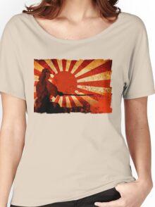 Samurai Sun Women's Relaxed Fit T-Shirt