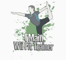 I Main Wii Fit Trainer (Male Alt) - Super Smash Bros  by PrincessCatanna