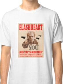 FLASHHEART WANTS YOU Classic T-Shirt