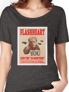 FLASHHEART WANTS YOU Women's Relaxed Fit T-Shirt