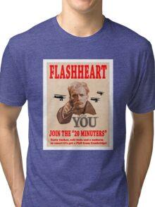 FLASHHEART WANTS YOU Tri-blend T-Shirt