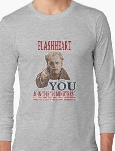 FLASH HEART WANTS YOU (2) Long Sleeve T-Shirt