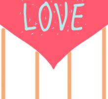 Global Love  Sticker