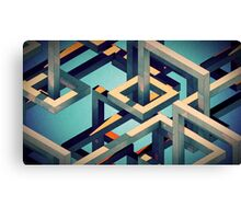 ISOMETRIC STUFF Canvas Print
