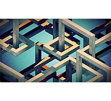 ISOMETRIC STUFF Photographic Print