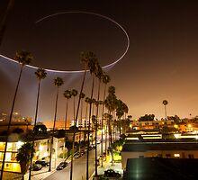 Hollywood Police Chopper by ChrisFrankPhoto
