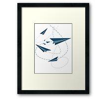 Paper Darts / Planes Framed Print