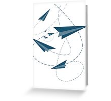 Paper Darts / Planes Greeting Card