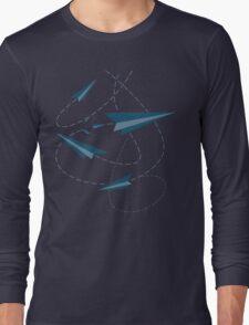 Paper Darts / Planes Long Sleeve T-Shirt