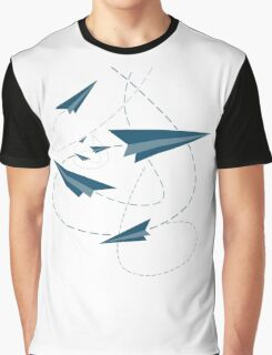 Paper Darts / Planes Graphic T-Shirt