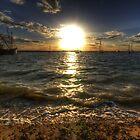 West Mersea Sunset by Nigel Bangert